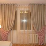 шторы для гостиной - двусторонние