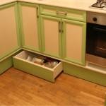 ремонт выдвижной полки на кухне