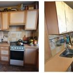 замена фасадов на кухне, минск