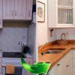 ремонт и замена фасадов на кухне, минск