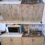 ремонт кухнонной мебели, ганитура