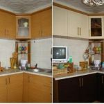 замена фасадов кухонной мебели минск