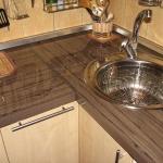 ремонт столешницы кухонной