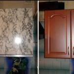 ремонт и обновление кухонного шкафчика